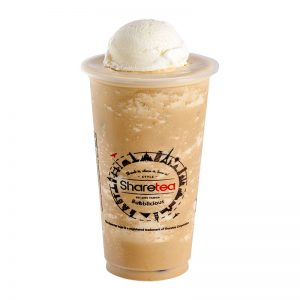 Coffee Ice Blended With Ice Cream