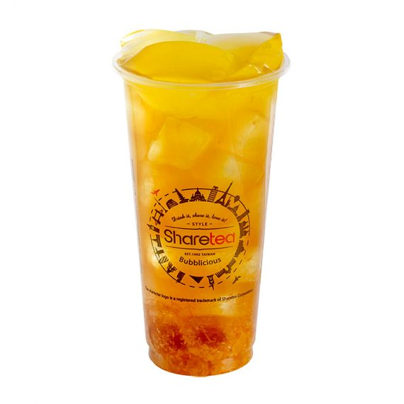 Hawaii Fruit Tea With Aiyu Jelly