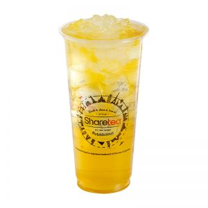 Honey Lemonade with Aloe Vera