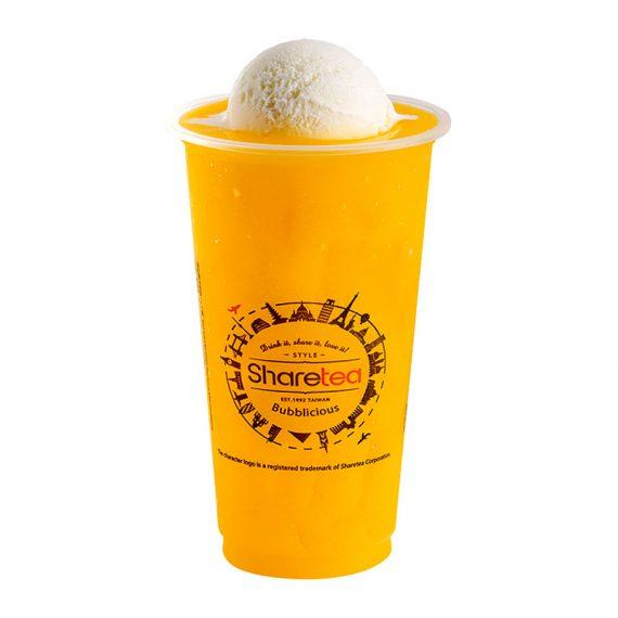 Mango Ice Blended With Ice Cream